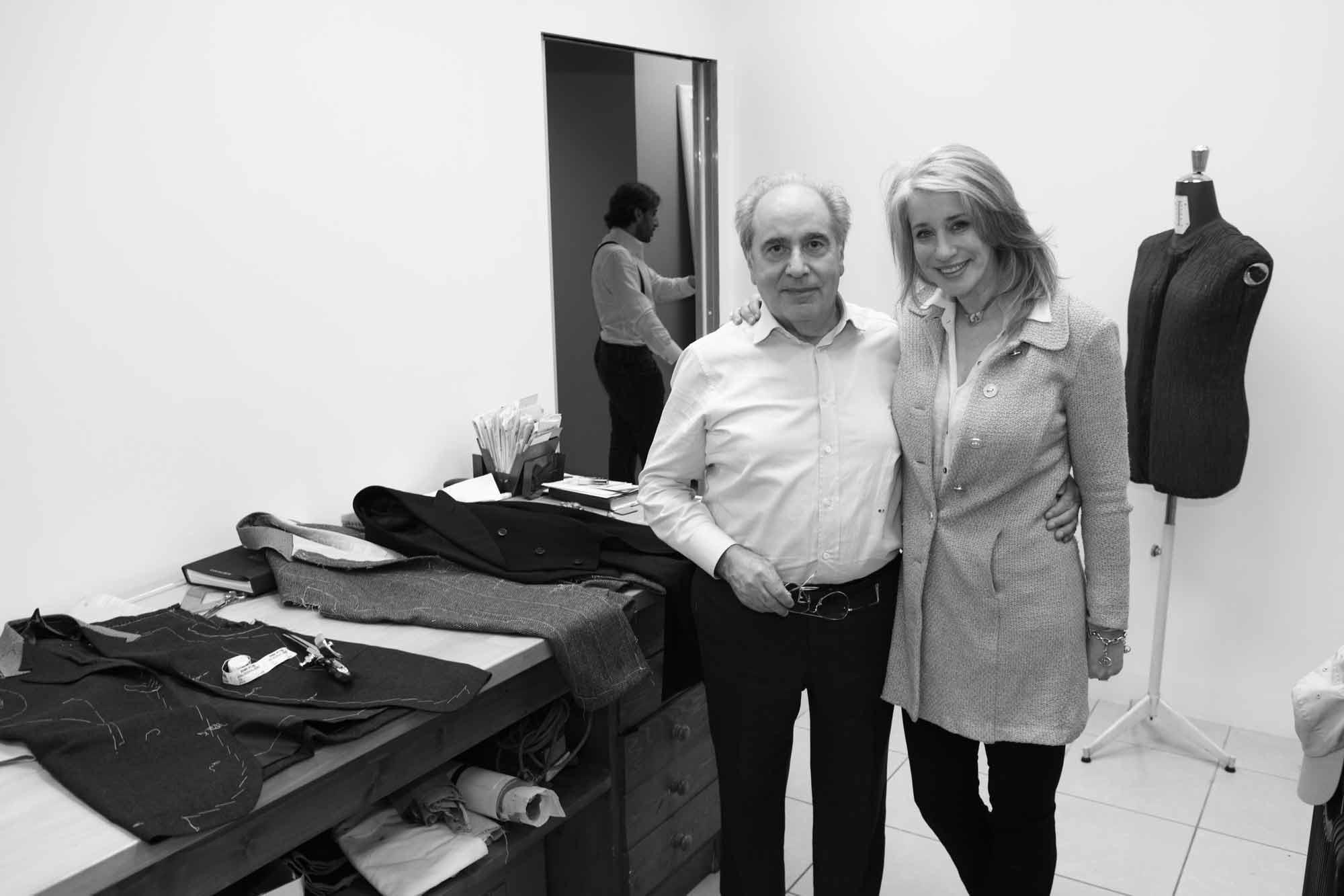 Mario Pecora et Sonya Nicholson