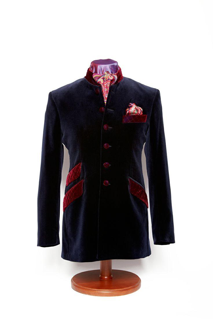 nehru smoking jacket