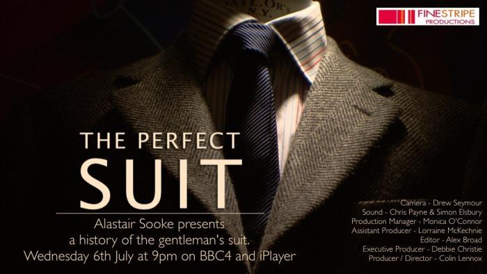 """""""The perfect suit"""" : documentaire de la BBC 4"""