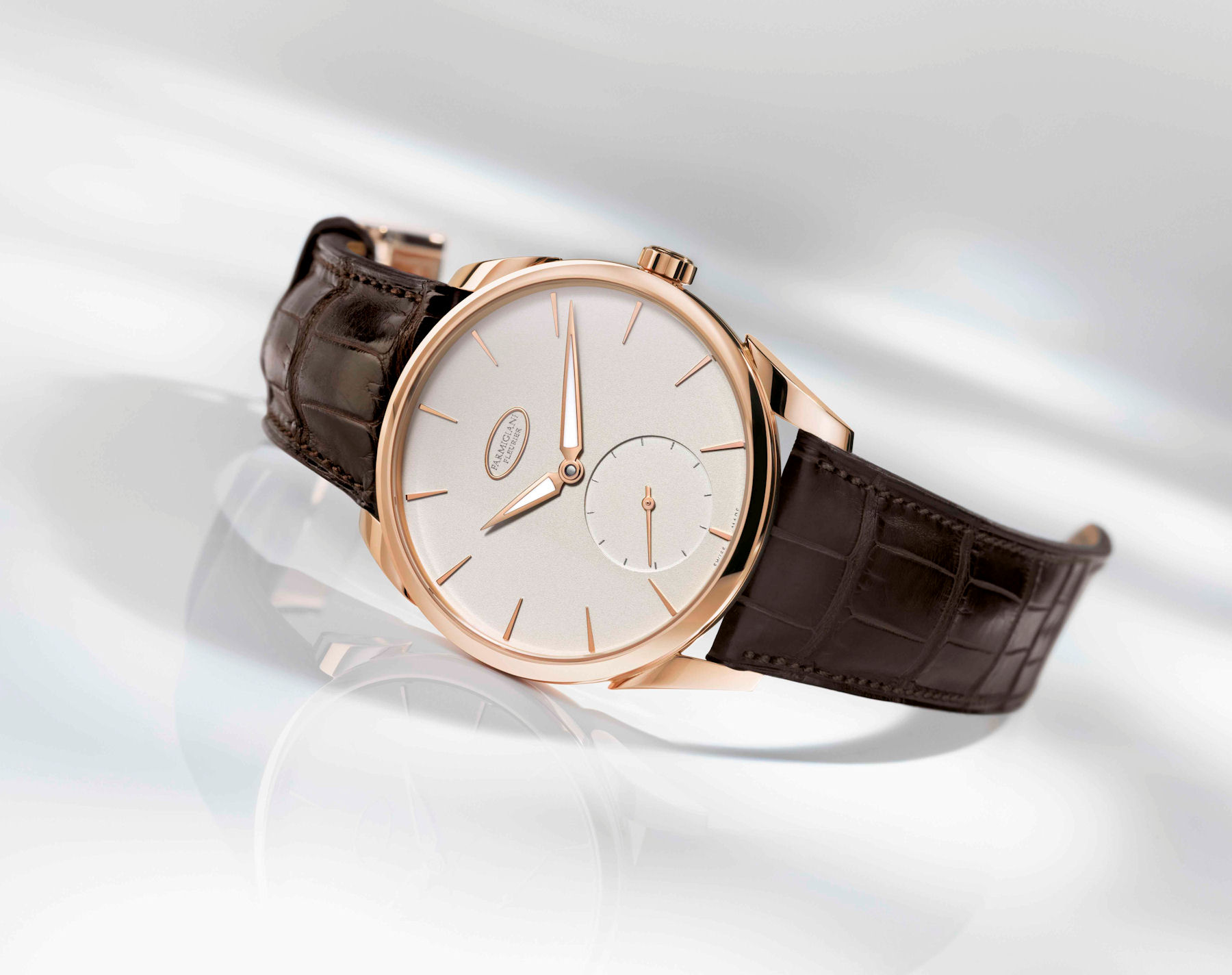 The supremely elegant Parmigiani Fleurier's Tonda 1950 timepiece