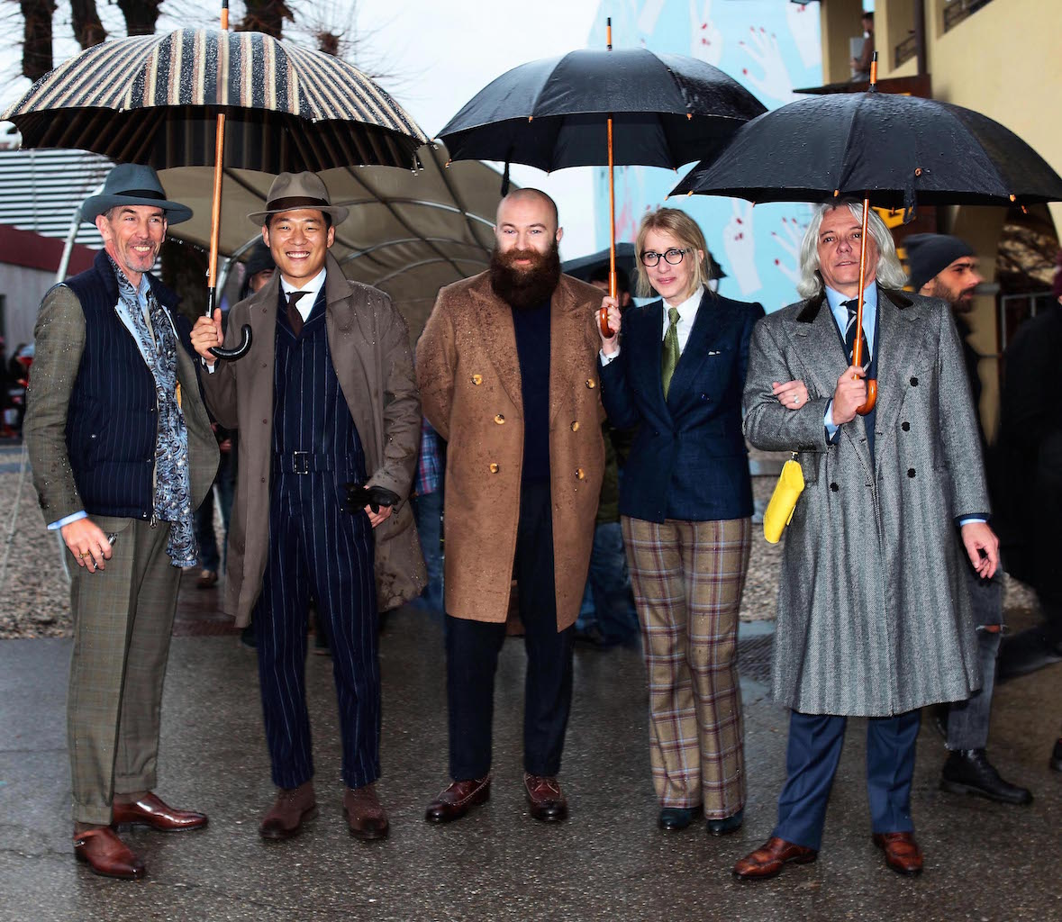 Video report of Pitti Uomo 89 by french blog Bonne Gueule