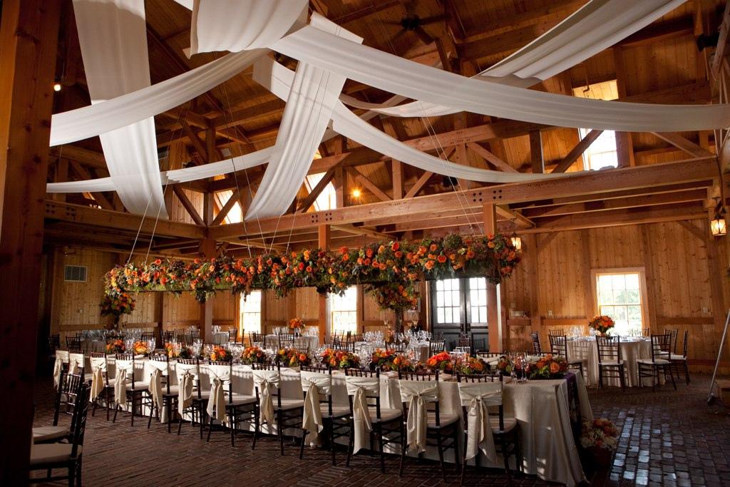 Example of a barn wedding venue