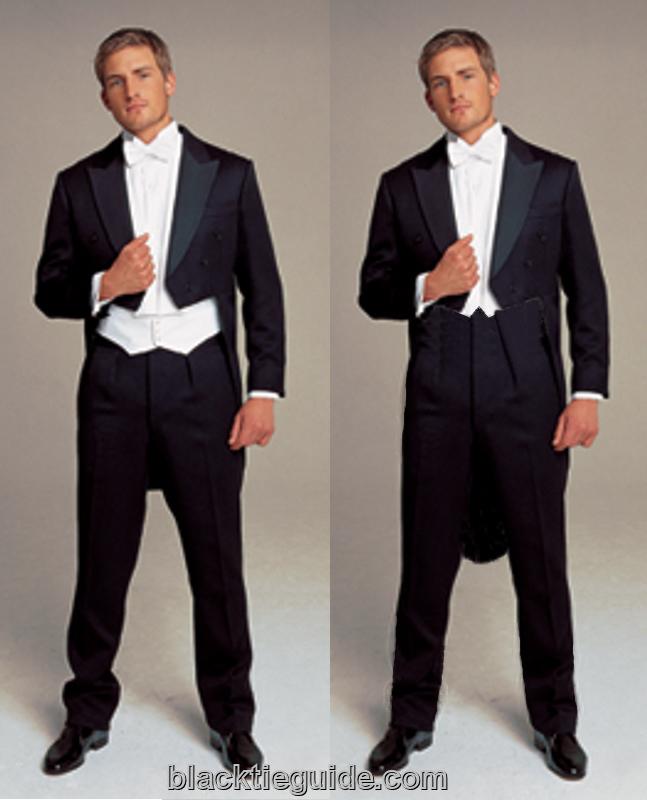 compare fit white tie