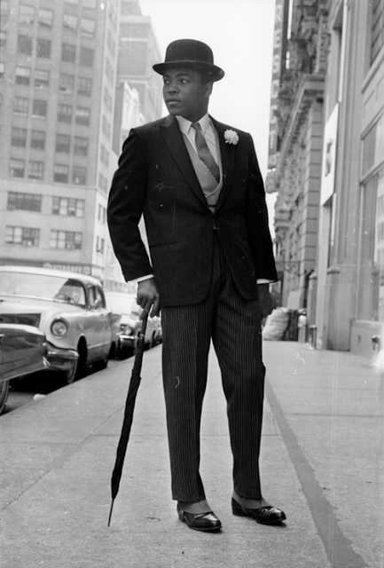 Cassius Clay as a City Gent