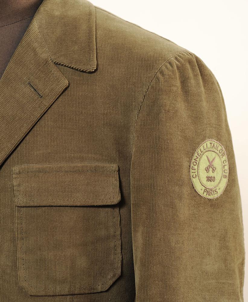 """Nouvelle veste """"military"""" chez Cifonelli"""