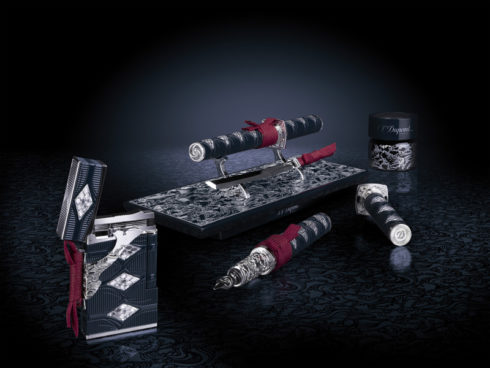 limited-edition-s-t-dupont-samurai-prestige-lighter-and-pen-set-2