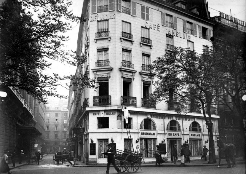Café Anglais 1900