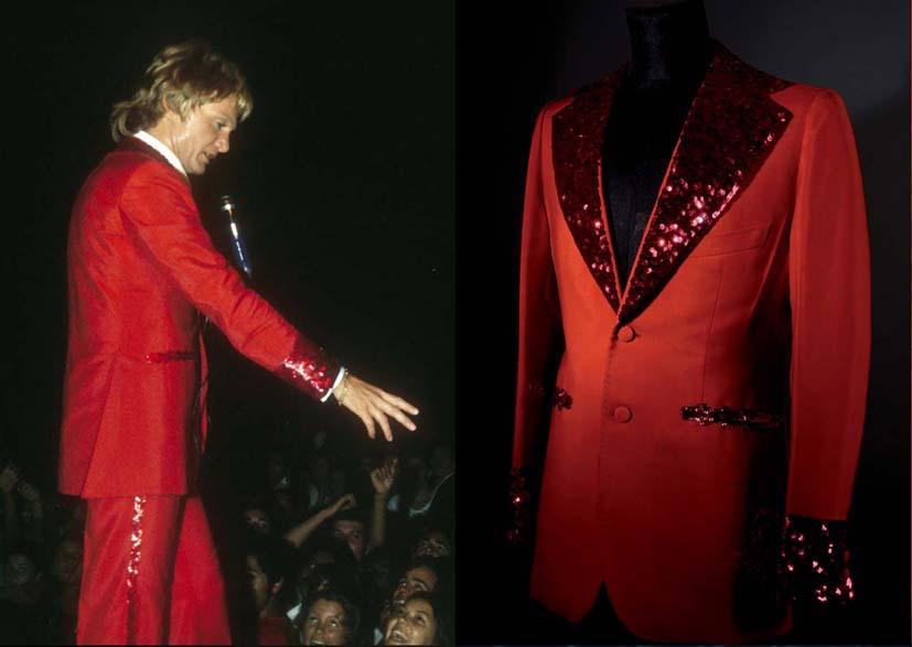 Claude François Red suit