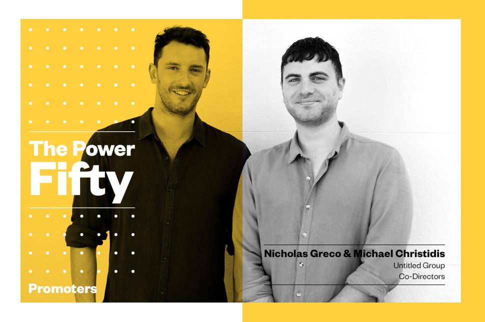 The Power 50: Nicholas Greco & Michael Christidis