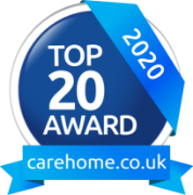 Top 20 on carehome.co.uk