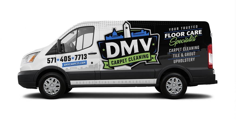 DMV Carpet Cleaning van