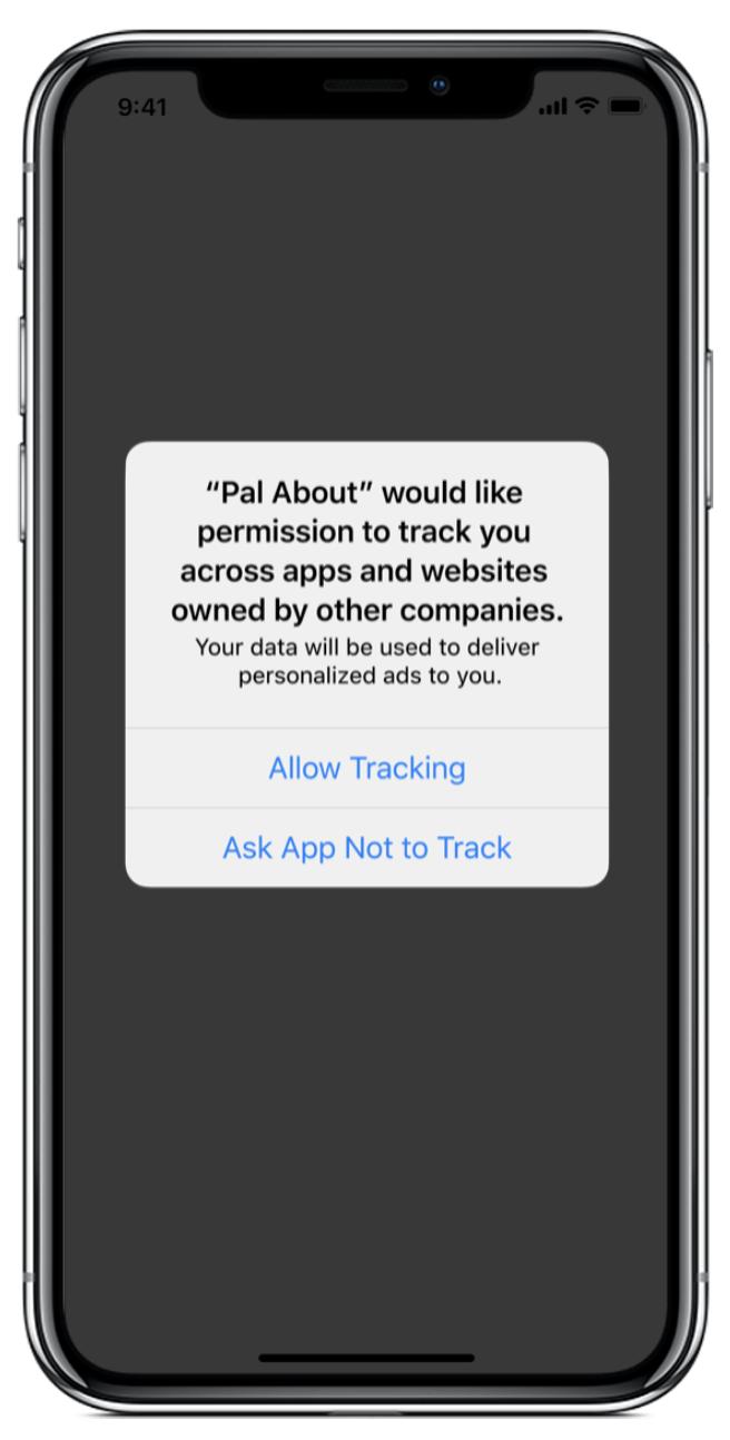 iOS14 Ads Block melding