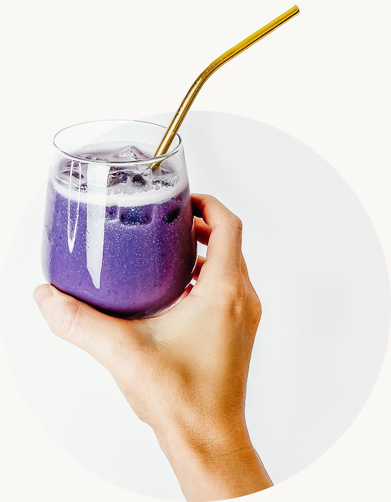 Beauty blend - Acai, borůvky ve smoothie