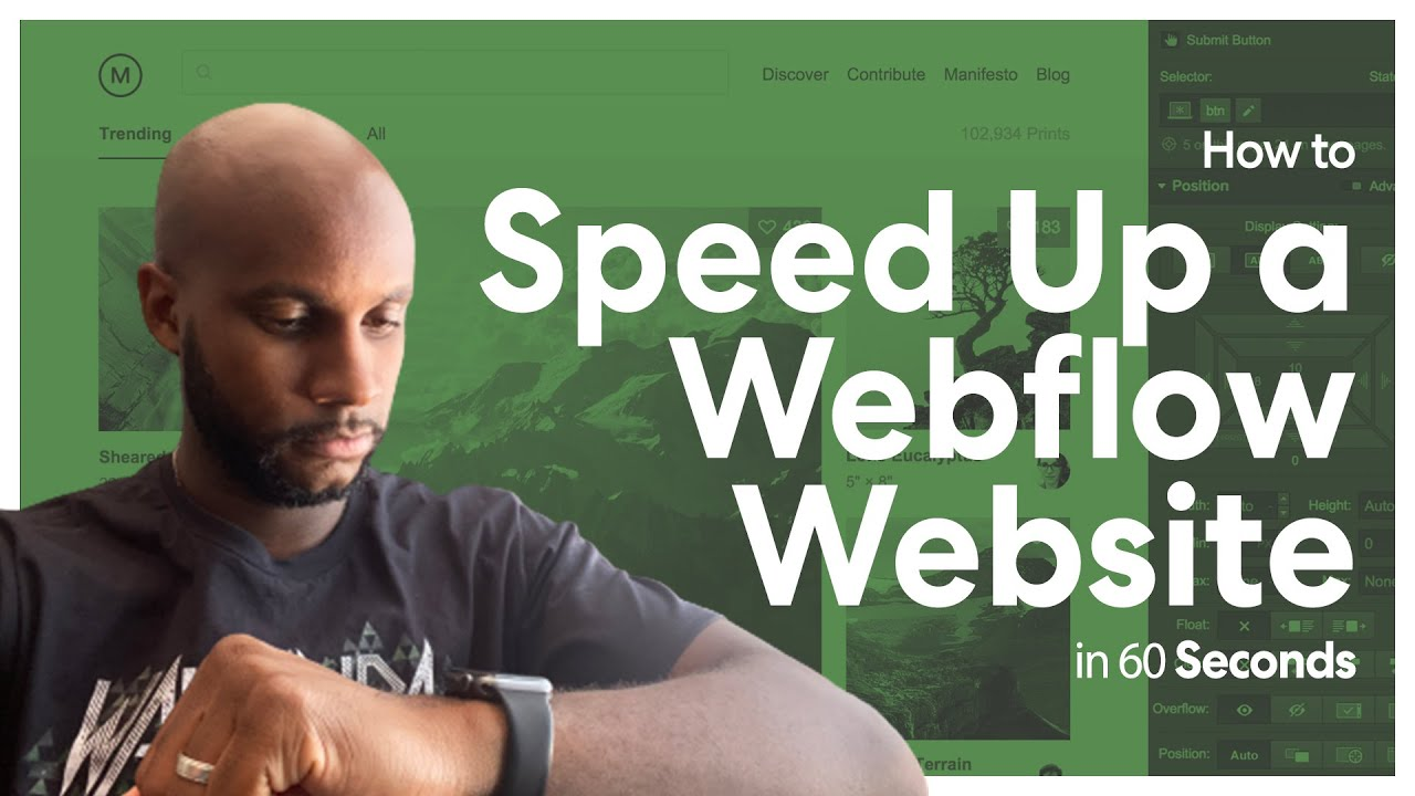 How to Speed Up a Webflow Website in 60 Seconds   Webflow Quick Tips