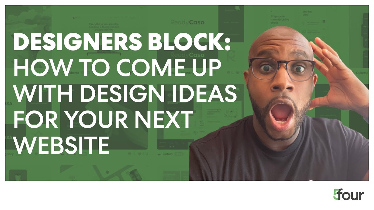 Designers Block: How to Come Up with Design Ideas for Your Website Design