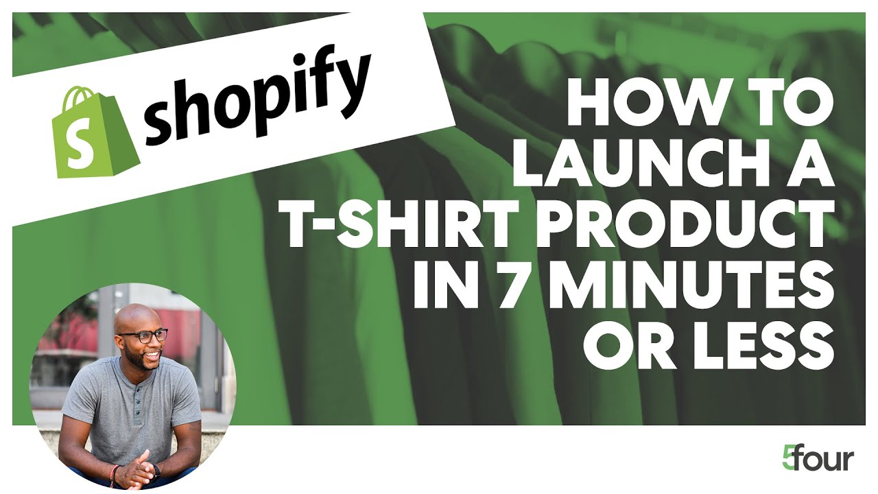 How to Launch a T Shirt Product in 7 Minutes or Less