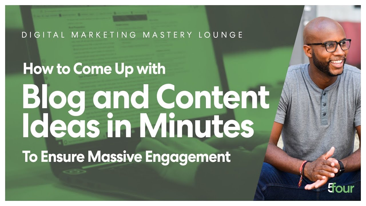 How to Come Up with Blog and Content Ideas in Minutes to ENSURE Massive Engagement