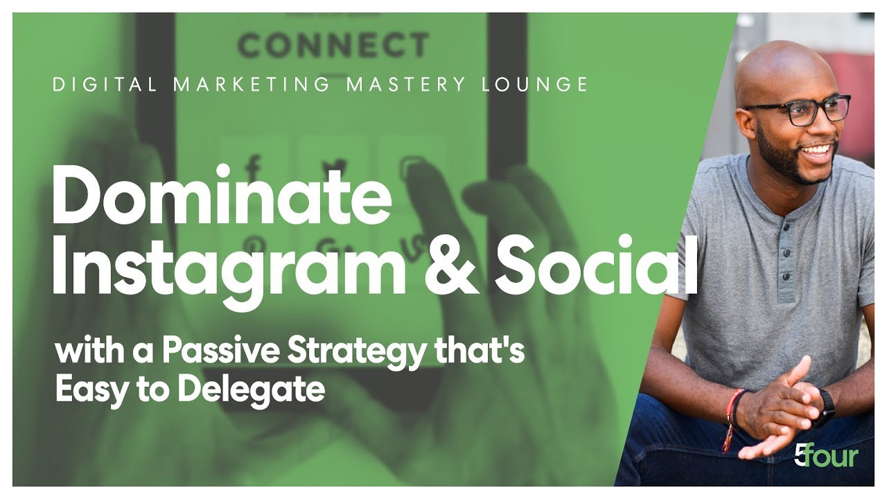 Dominate Instagram and Social with a Passive Strategy that's EASY to Delegate