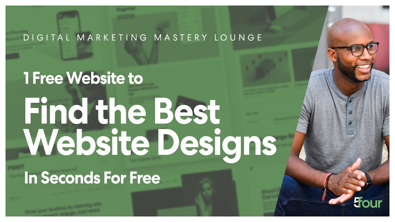 1 Free Website to Find the BEST Website Designs for Inspiration