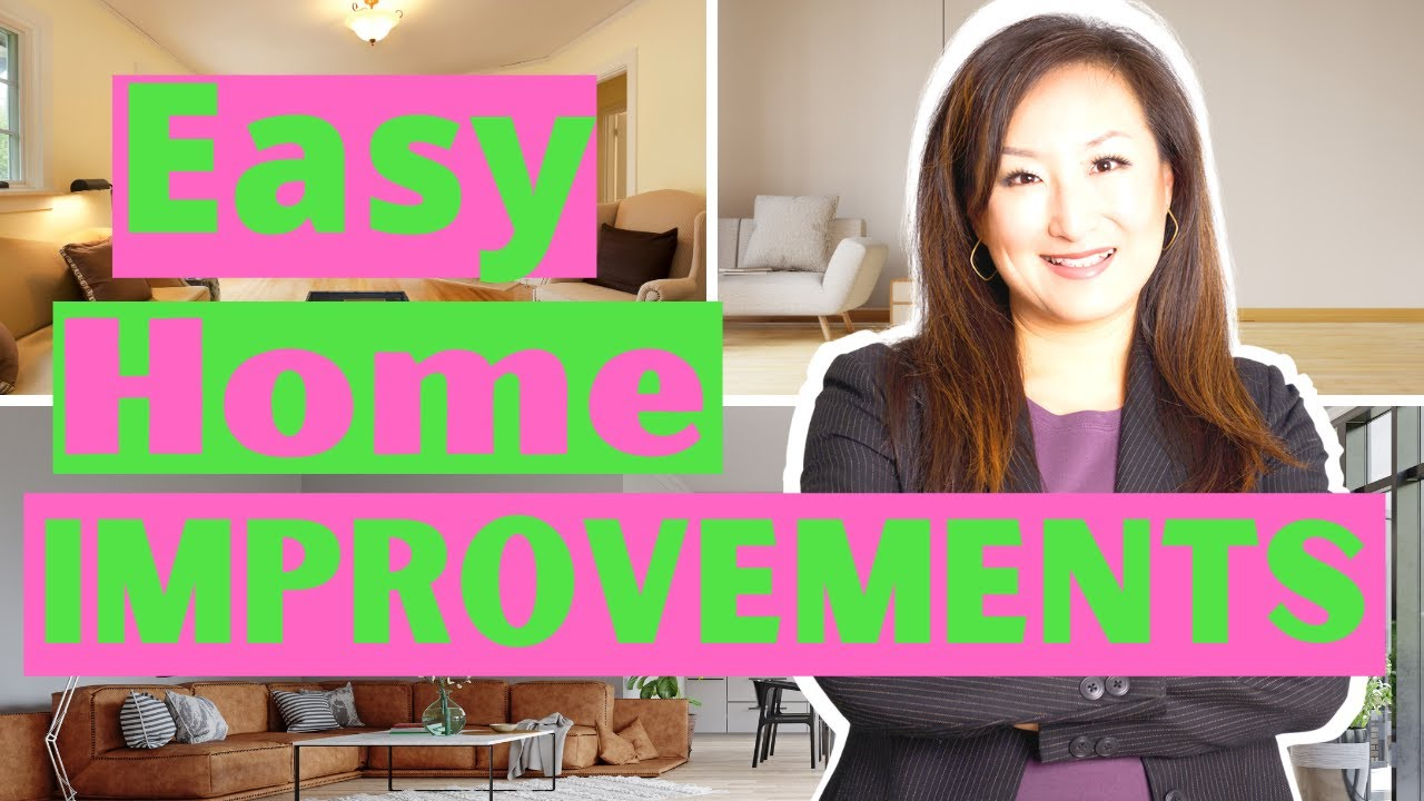 5 Cheap + Easy Home Improvement Projects