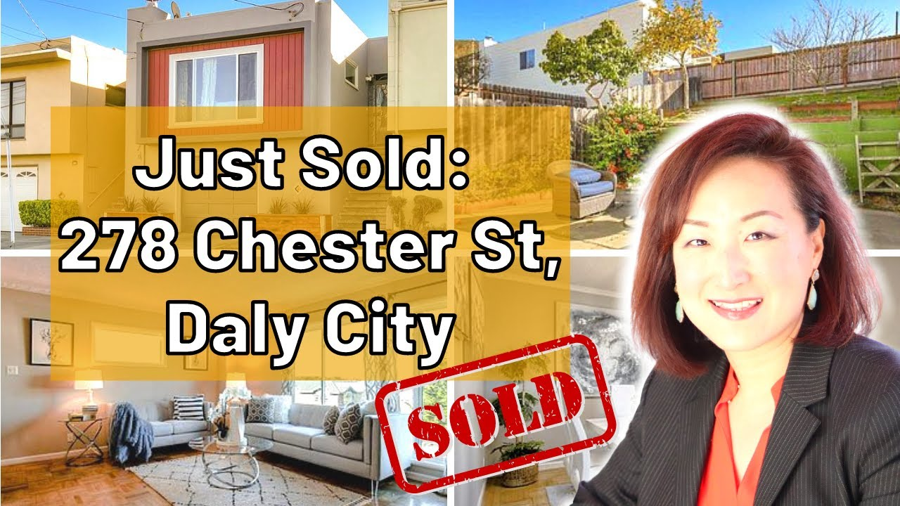 Sold!! Real Estate in Daly City: 278 Chester St Daly City