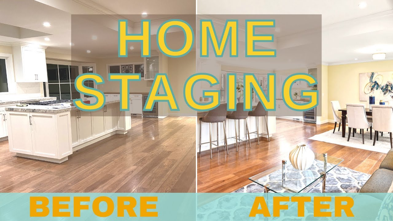 Before and After Home Staging: How to Stage your Home Like Million Dollar Listing
