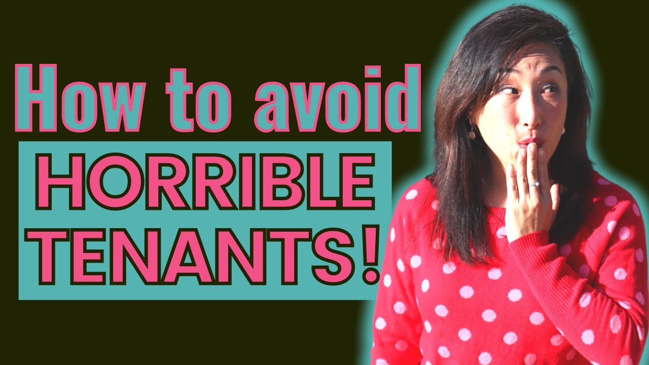 How To Find Renters That Won't Destroy Your Property!!