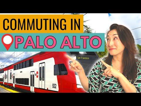 Commuting to Top Tech Companies from Palo Alto, California