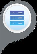 Web Design Server Icon