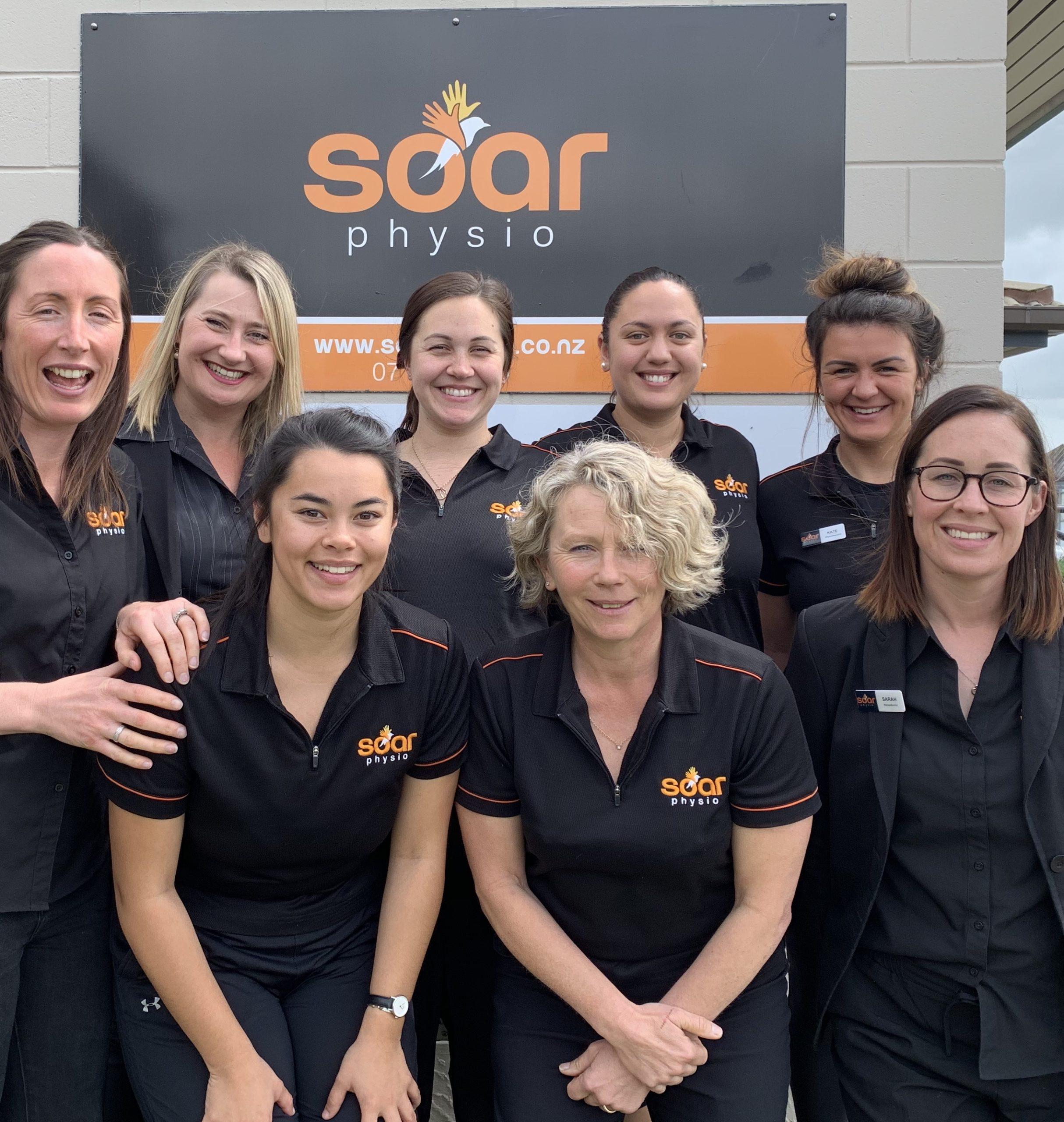The Soar Physio team