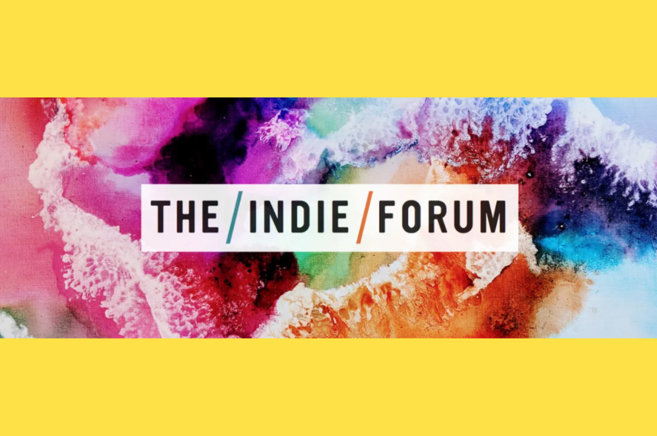 Loved participating in the Indie Forum hosted by the NetworkOne