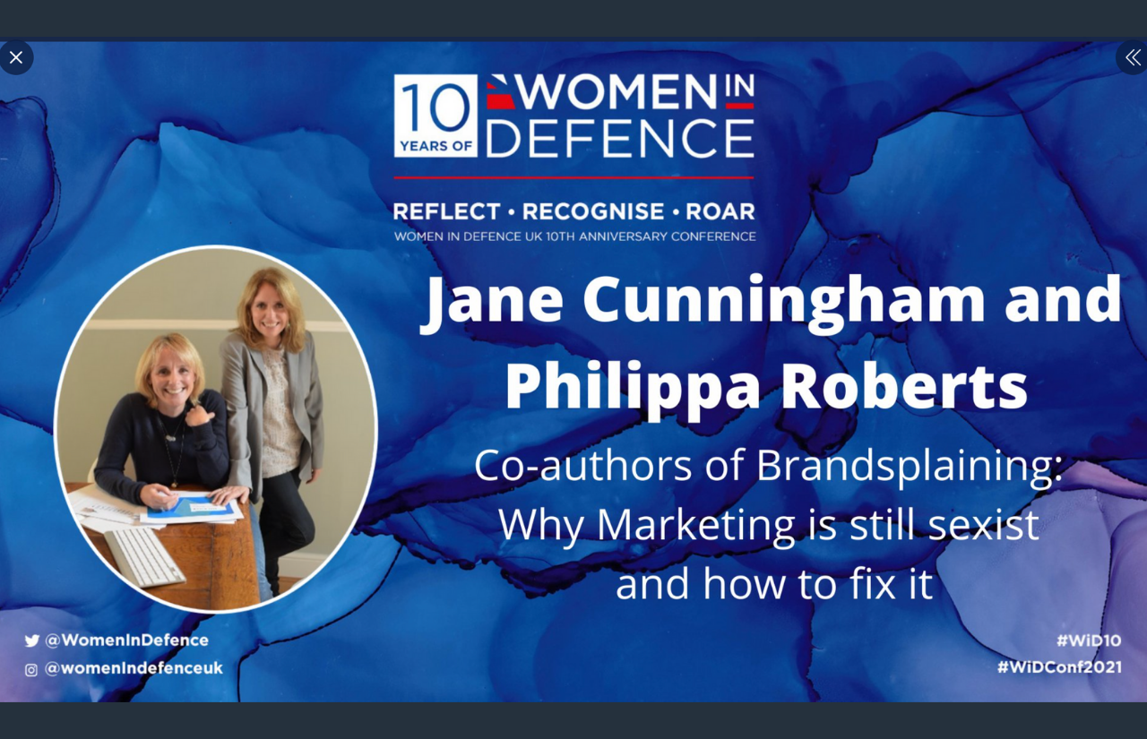 PLH speaking at Women in Defence 10th Anniversary Conference 8th September