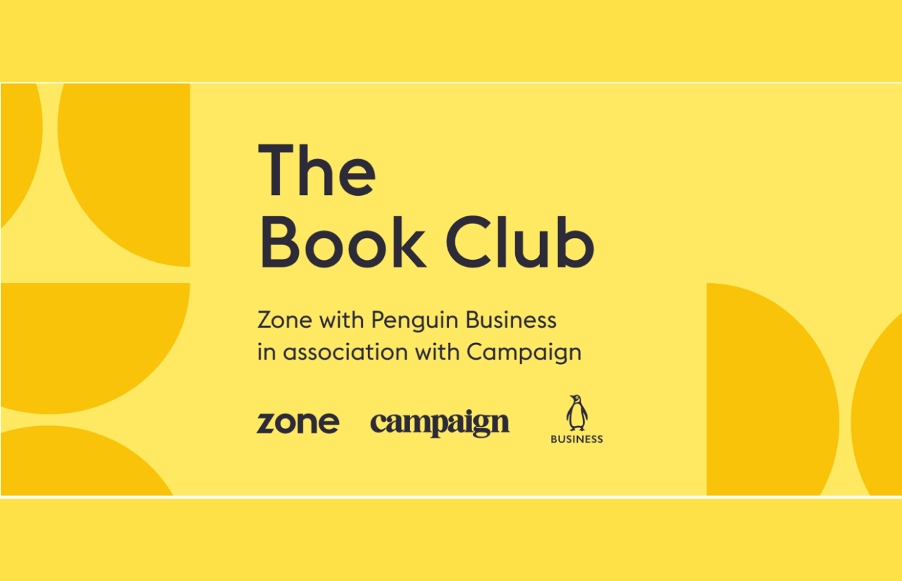 Zone Digital Book Club on 15th of September