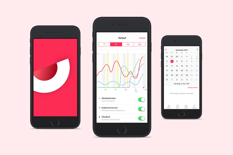 UX/UI Design für e-Health App