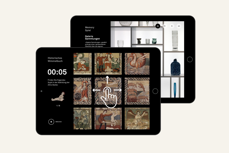 Tablet Games – Interaktive, spielerische Momente im Museum