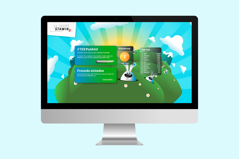 Online Kampagne mit interaktivem Osterspiel