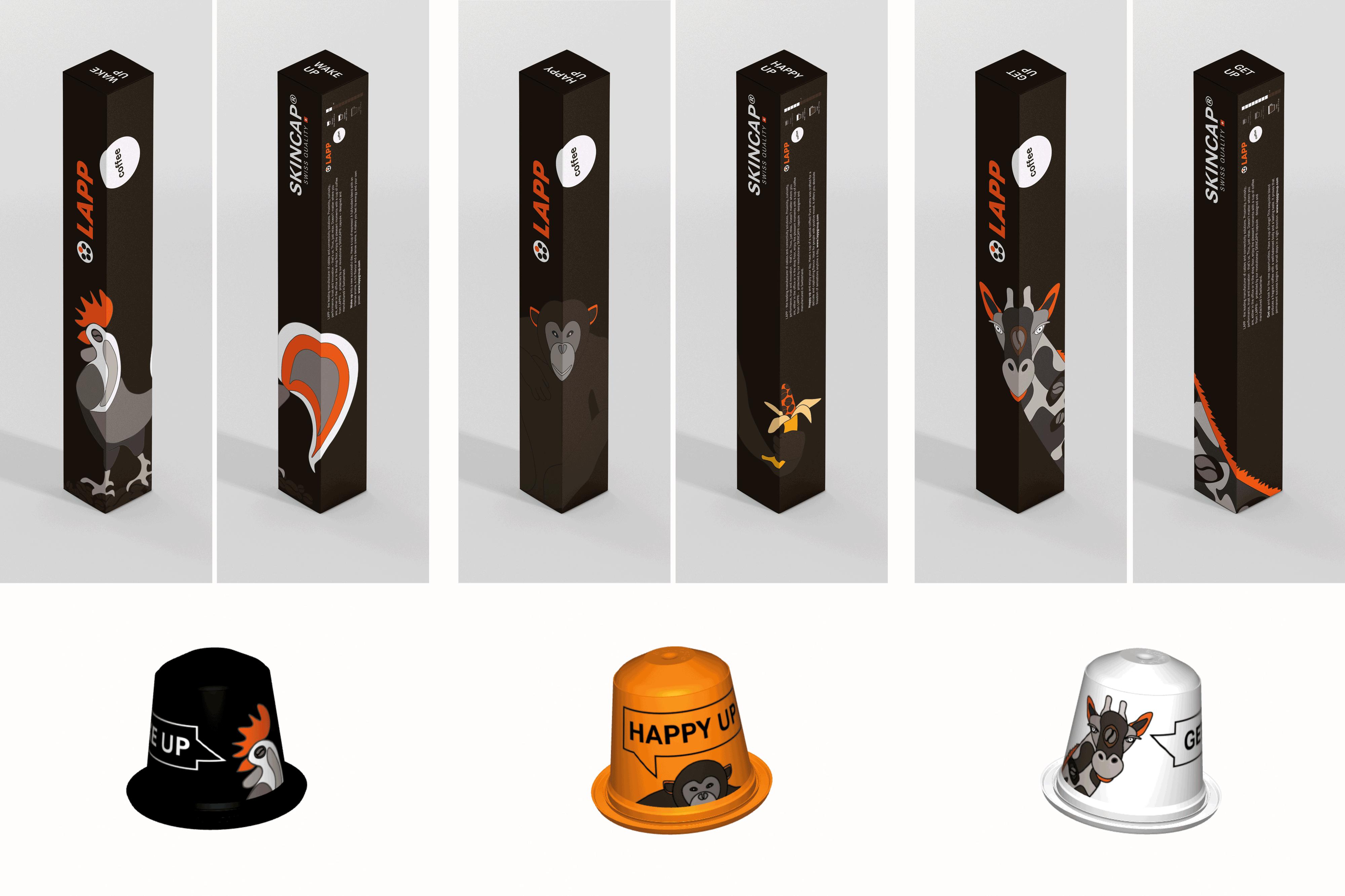Storytelling im Verpackungsdesign – tierische Kaffeeboxen