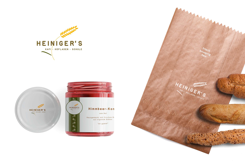 Corporate Design für Heiniger's