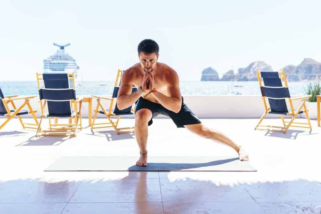 yoga in the sun