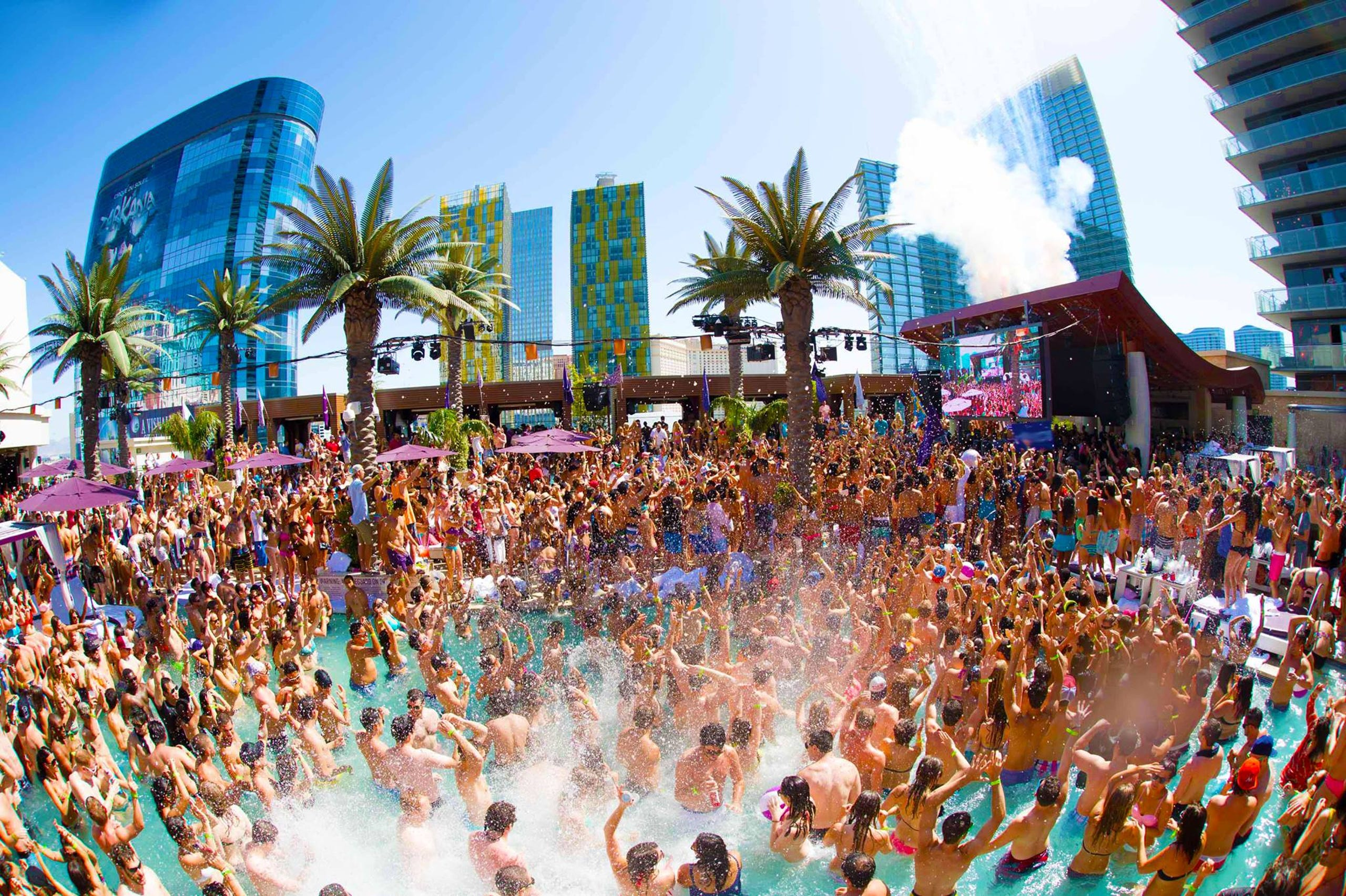 Las Vegas Fall Break pool party