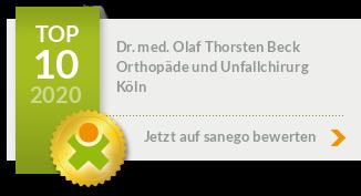 Sanego empfiehlt Dr. med Olaf Beck