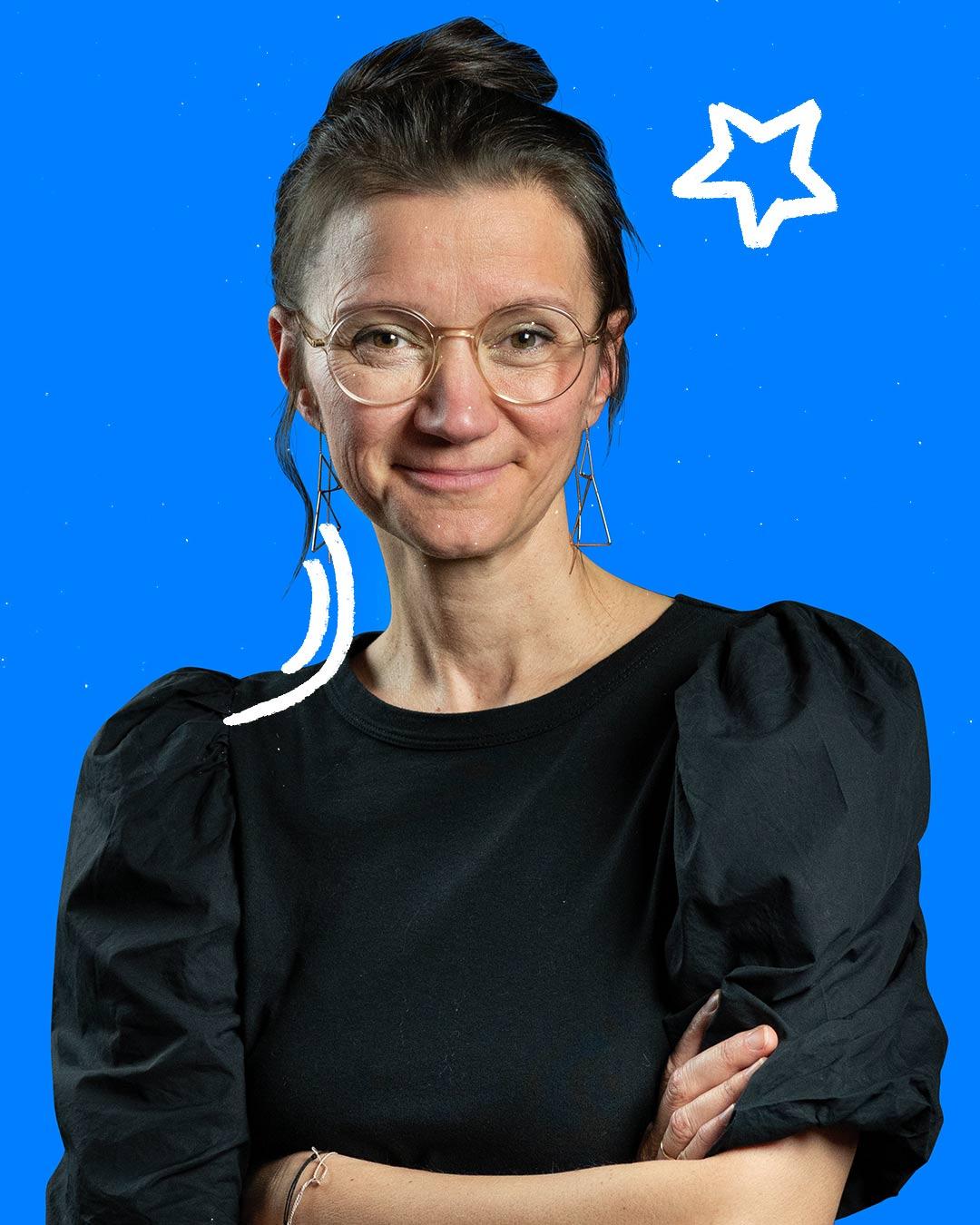 Sabine Erdman, Portrait Frau