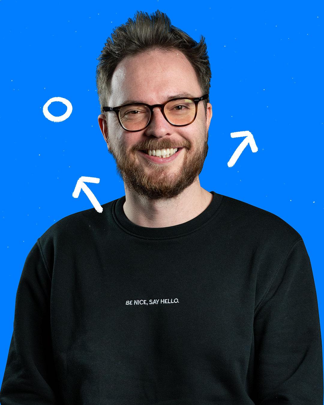 Christian Böhmer, Portrait Mann