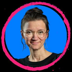 Sabine Erdmann, Frau Portrait