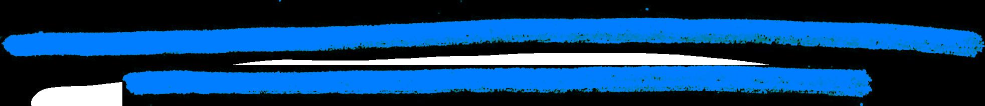 Blaue Strich Zeichnung