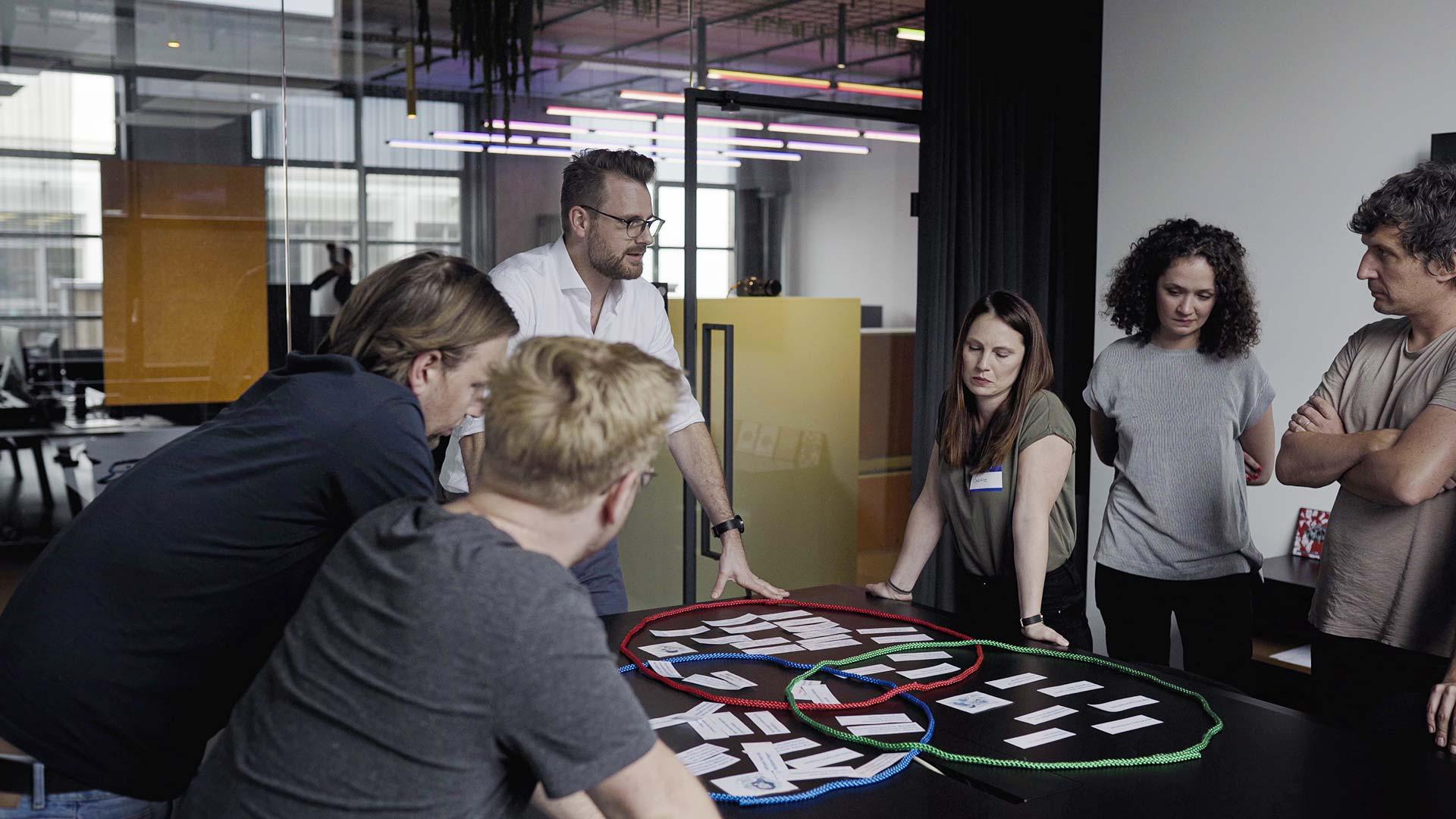 Workshop Gruppe und Trainer