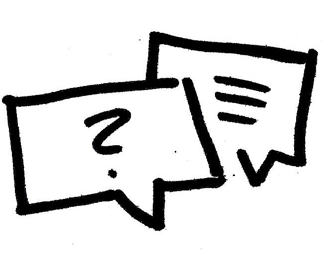 Dialog Zeichnung