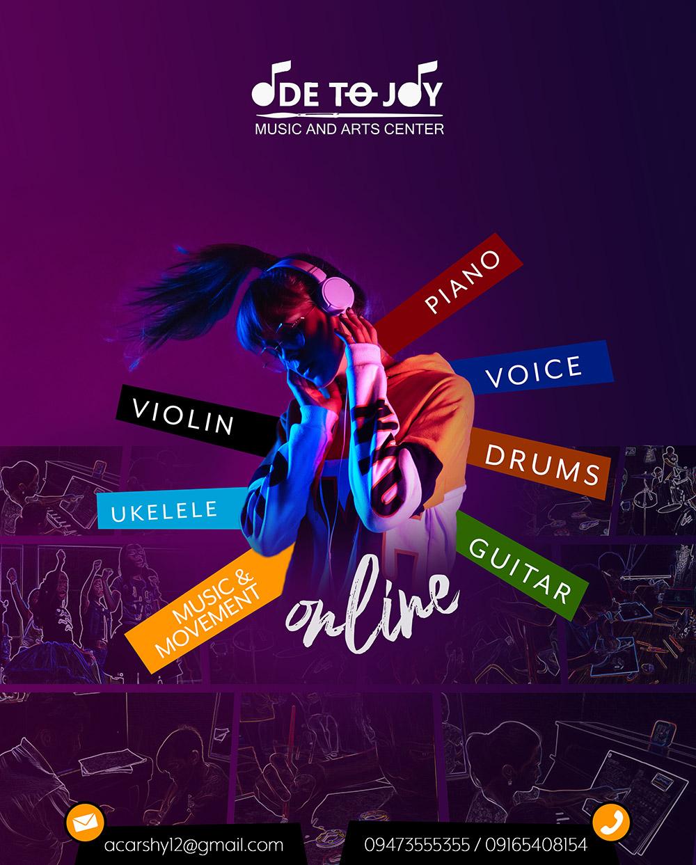 Poster: Ode to joy