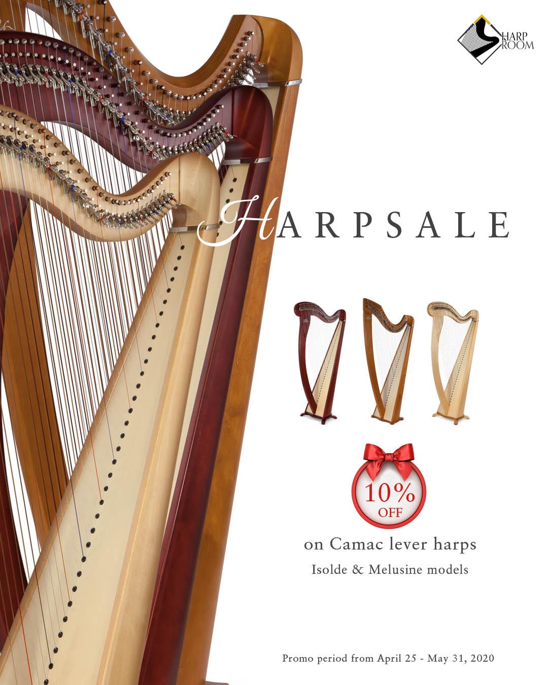 Poster: Harp Sale