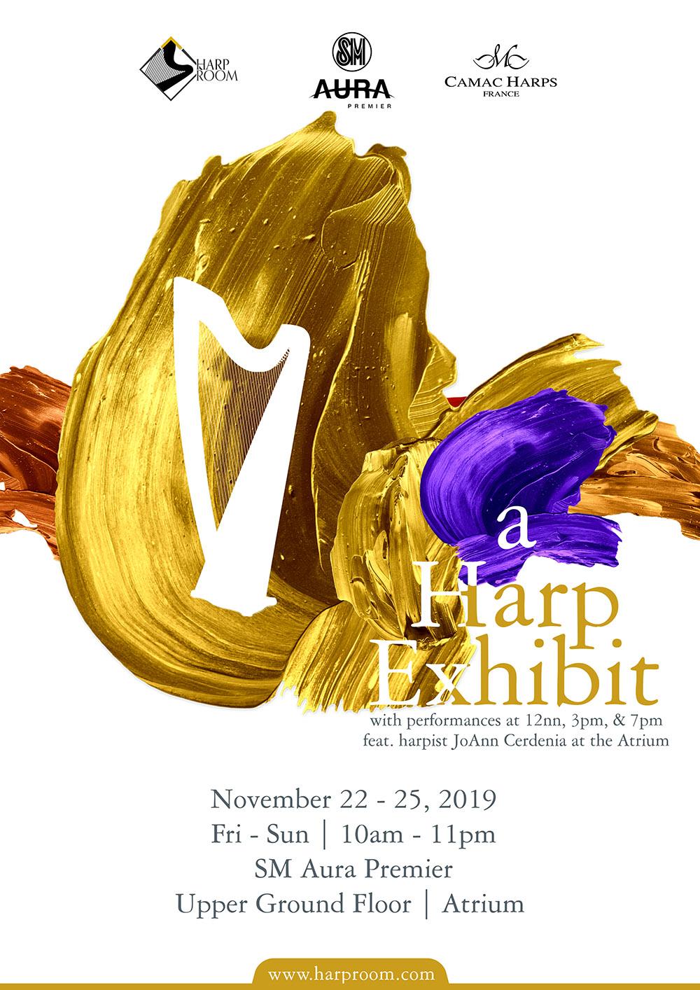 Poster: A harp exhibit